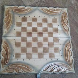 Набор 3 в 1 шахматы,шашки,нарды