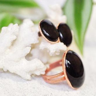 Кольцо и серьги-гвоздики