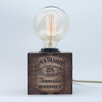 Лампа ночник светильник с индивидуальной гравировкой