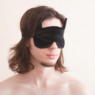 Маска для сна купить Киев, Бэтмен маска для сна, Подарок мужчине, Подарок парню