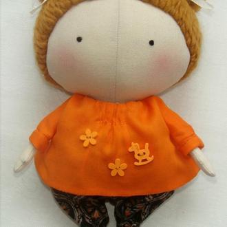 Малышка-тильда Люся