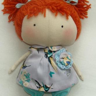 Малышка-тильда Рыжуля