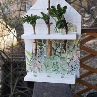 Будиночок - ваза