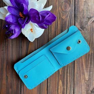 Компактний гаманець, OlStan Bifold 2.0 Blue