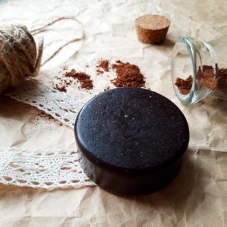 Мыло-скраб от черных точек для жирной кожи