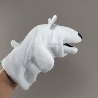 Кукла-перчатка Медведь Белый