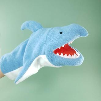 Кукла Перчатка Акула