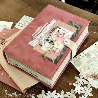Семейный фотоальбом, фотоальбом для девушки, подарок для девушки, подарок для мамы