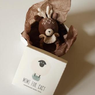 Погремушка грызунок олень