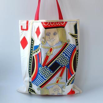"""Эко сумка, эко торба """"Пасьянс"""", сумка для покупок, шоппер"""