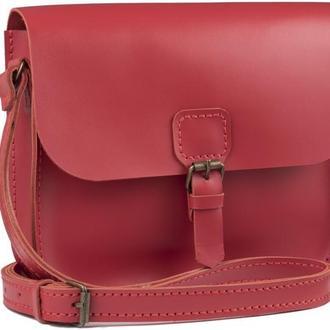 Женская сумка Art Pelle Handy красный (Kaiser)