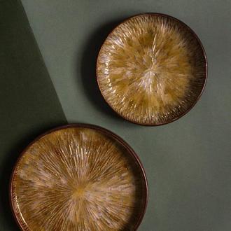 Комплект блюдо и тарелка
