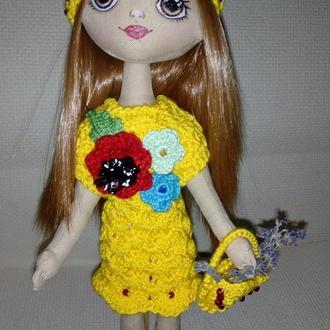 Авторская кукла ручной работы.