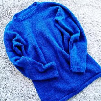 Тонкий свитер из итальянского кидмохера