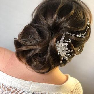 гребень для волос украшение для невесты свадебное украшение
