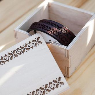 КОМПЛЕКТ -10% - скидка на парные браслеты с орнаментом