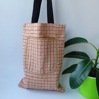 Сумка для покупок, эко сумка, торба, сумка-пакет, сумка шоппер 04