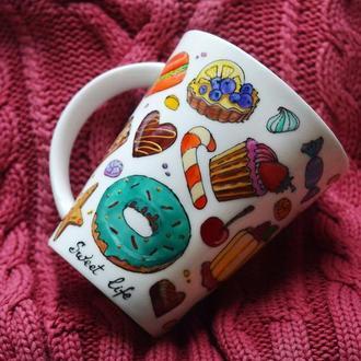 Чашка для сладкоежек