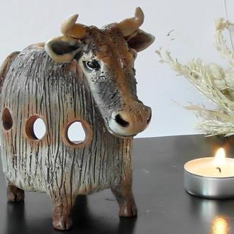 Аромалампа корова подарок для семьи