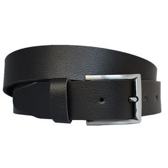 Lucky777 черный кожаный мужской ремень для джинс кожанный пояс кожа