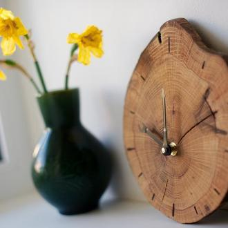 Настенные часы из дерева
