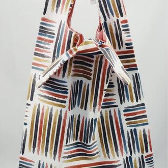 Пляжная сумка. Тканевая сумка, эко-сумка. Сумка для покупок, шоппер, авоська, торба.