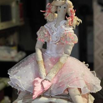 """Кукла тильда """"принцесса на горошине"""""""