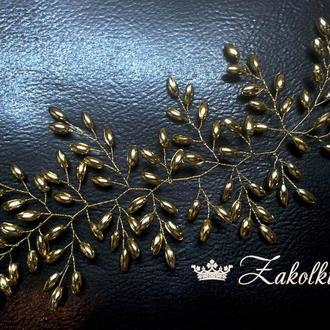 Веточка-украшение для волос
