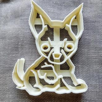 Пресс-форма для печенья(пряника) Чихуахуа , шт, пластик