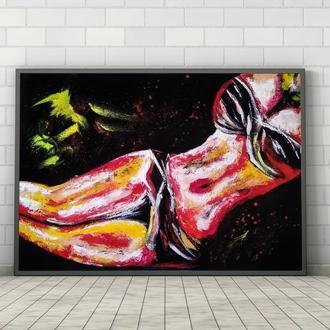Натали (картина масло/холст) 60х80х2 см