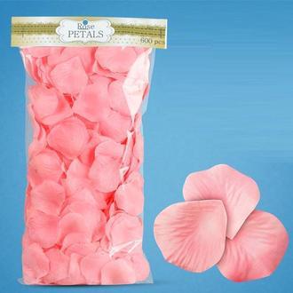 Искуственные лепестки роз розовые, арт. PL-600-03