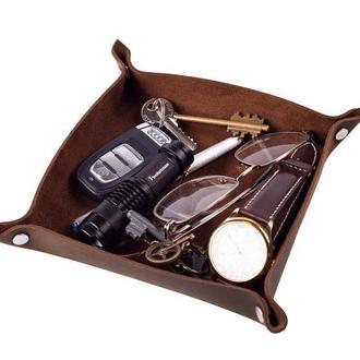 Кожаный органайзер для незаменимых мелочей в 6 цветах на выбор 0128