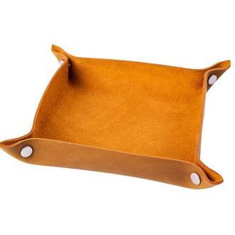 Кожаный органайзер для прихожей или рабочего стола в 6 цветах на выбор 0128