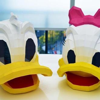 Парные маски Дейзи и Дональд Дак