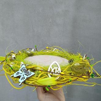 Тарелка-подставка для паски и яиц