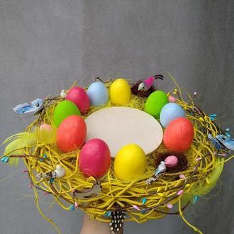 Пасхальная тарелка, пасхальная подставка для паски и яиц