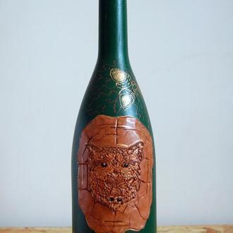 """Бутылка""""золотая осень"""""""