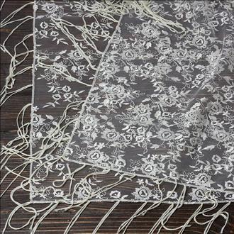 Венчальный платок бежевый, арт. PV-1003