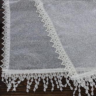 Венчальный шаль бежевый, арт. PV-1012