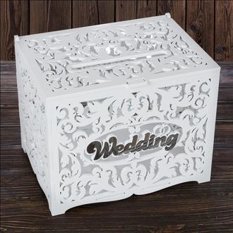 """Свадебный деревянный сундук """"Wedding"""", арт. SD-00106"""