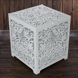 Свадебный деревянный сундук, арт. SD-00020