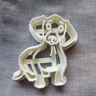 Пресс-форма для печенья(пряника) Такса , шт