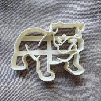 Пресс-форма для печенья(пряника) Бульдог , шт, пластик