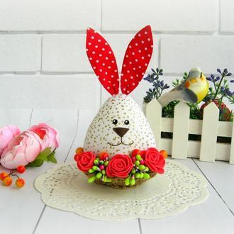 Заяц-яйцо, пасхальный декор, Великдень