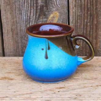 Горнятко кавове блакитне