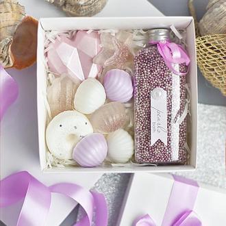 Набор косметики  Love in Spring Морской пурпур