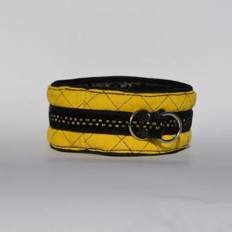 Yellow Poodle's Collar. Mod. Mary Ошенийк для Пуделя