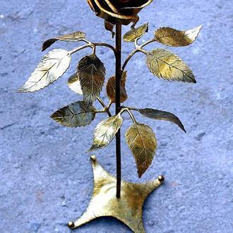 кованые (железные) розы!