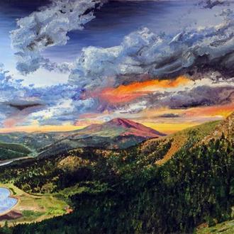 "Картина ""Красота природы"""