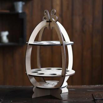 """Подставка для пасхальных яиц и писанок """"Пасхальная корзина"""""""